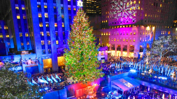 [NY] Rockefeller Tree-Lighting Time Lapse