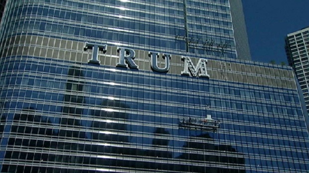 Trump Building Letters Get Mixed Reaction