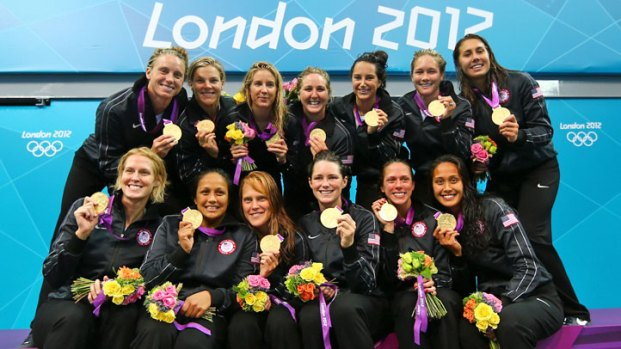 U.S. Women's Water Polo Wins Gold
