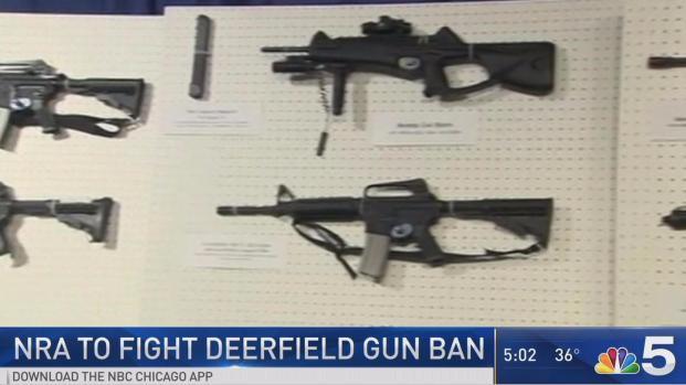 [CHI] NRA Supports Suit Against Deerfield Weapons Ban