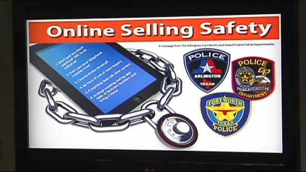 [NATL-V-DFW] Police Warn About Buying, Selling Online