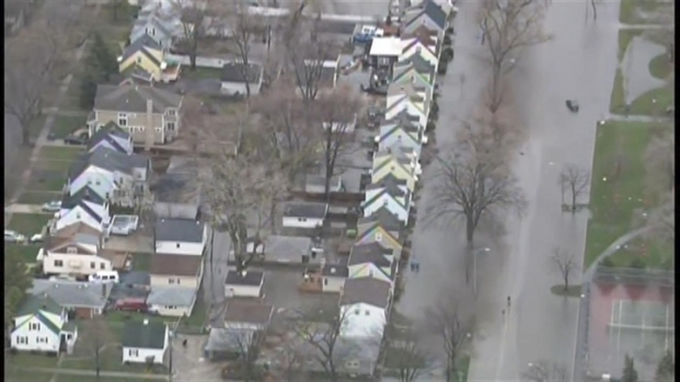 [CHI] Sky 5 Tours Flooding in Western Suburbs