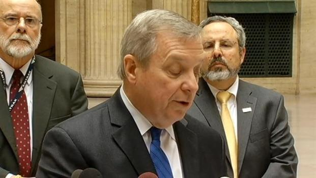 [CHI] Durbin Explains Lawsuit Against Post Office
