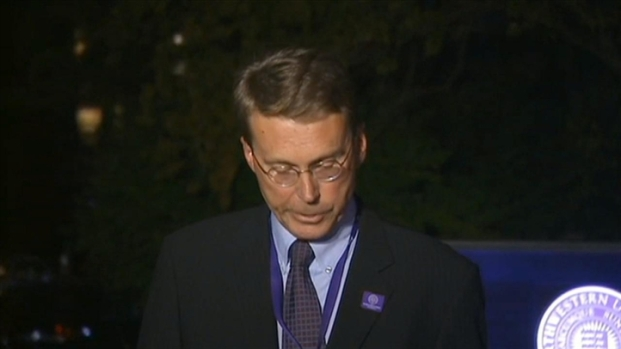[CHI] Northwestern Spokesman Announces Discovery of Body
