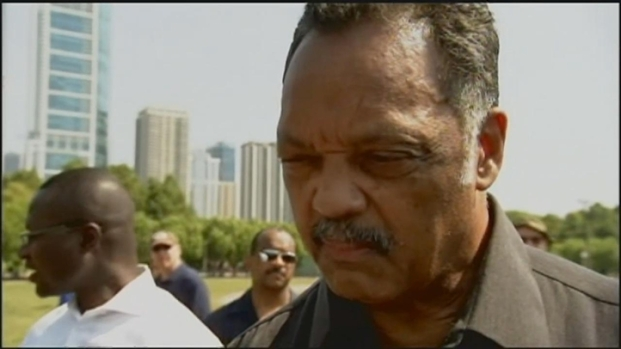 "[CHI] Jesse Jackson: ""Demonstrators Must Have Moral Authority"""