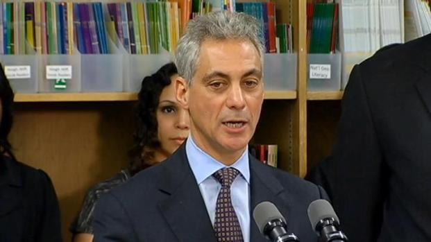 "[CHI] Emanuel: No Conflict With Hitting School ""Restart Button"""