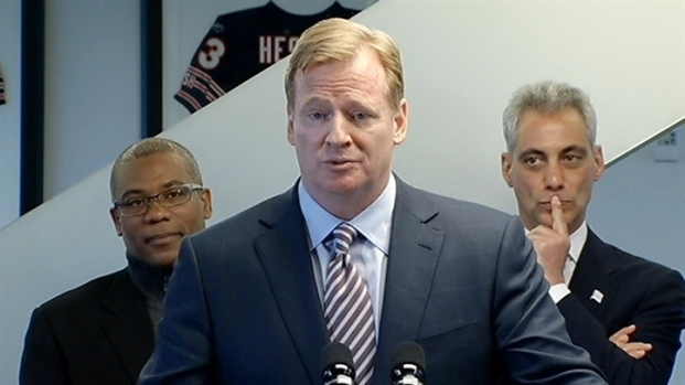 [CHI] Mayor, NFL Commissioner on a Chicago Super Bowl
