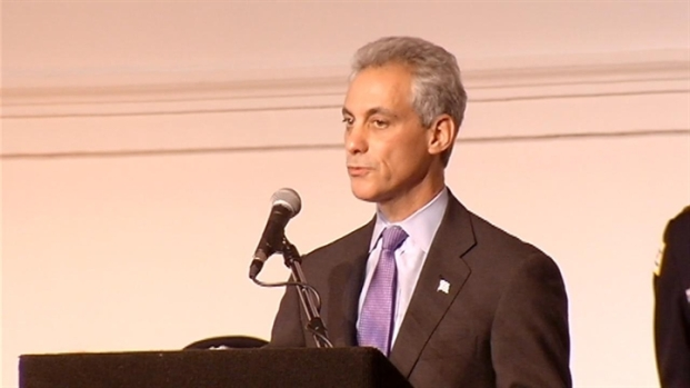 [CHI] Emanuel Reacts to President's Gun Proposals
