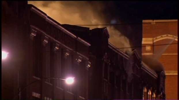 [CHI] Raw: Warehouse Fire