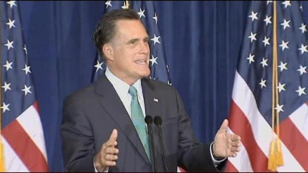 """[CHI] Romney Speaks of """"Economic Freedom"""""""