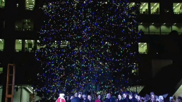 [CHI] Chicago Lights Its 2012 Christmas Tree