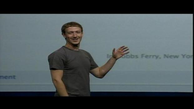 [BAY] Raw Video: Mark Zuckerberg Introduces New Features