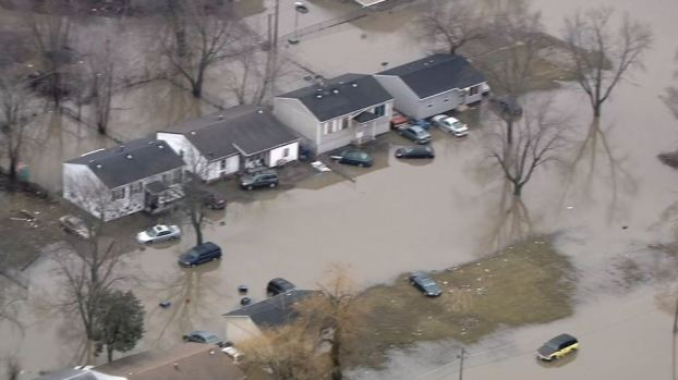 Photos: Flooding Wreaks Havoc on Chicago Suburbs
