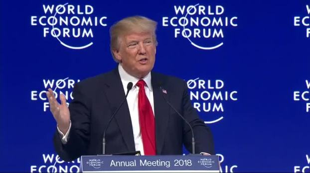 [NATL] Trump in Davos: 'America First Does Not Mean America Alone'