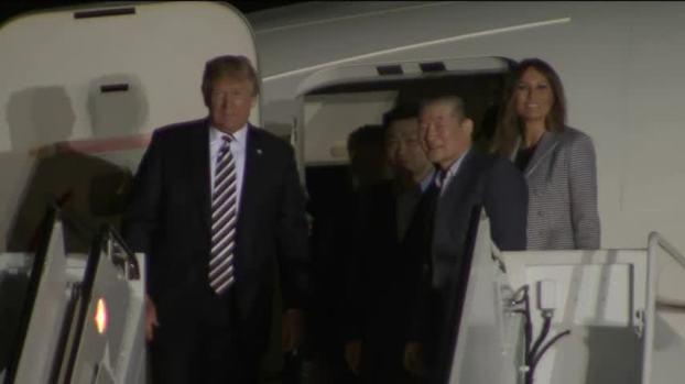 [NATL] Trump Welcomes American Detainees Freed From N. Korea