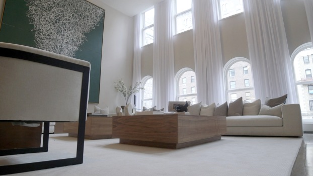A Four-Floor Mansion on Park Avenue designed by Cheryl Eisen