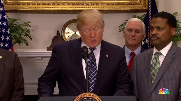 President Trump Signs MLK Day Proclamation