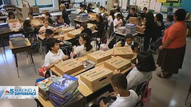 Group Helps Low-Income Students With Supplies