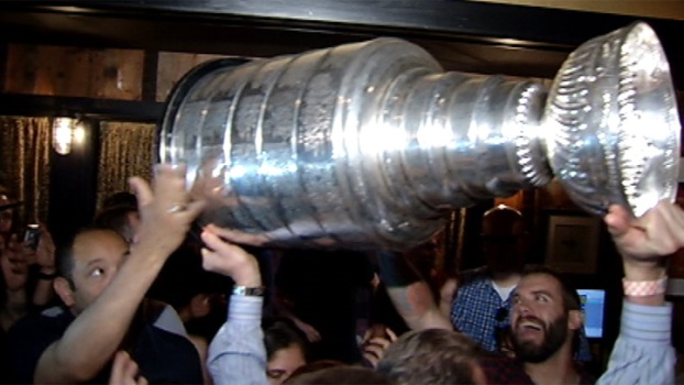 Stanley Cup Appears at Three Aces