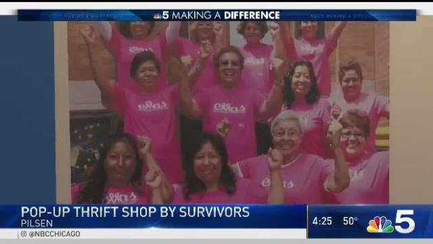 Cancer Survivors Open Pop-Up Chicago Thrift Shop to Pay it Forward