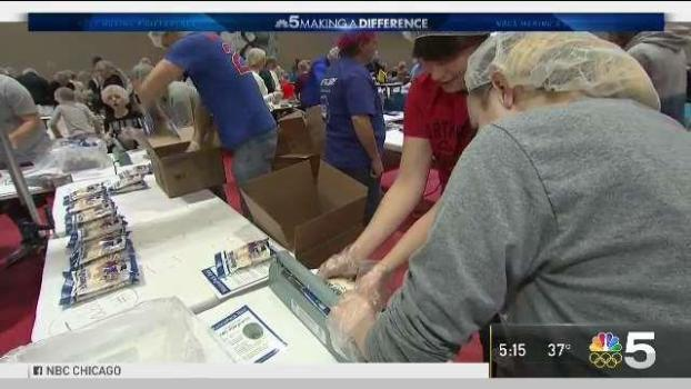 Concerned Citizens Team Up to Make 1 Million Meals for Children