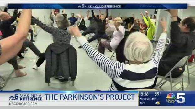 Chicago Dance Center Helps Those With Parkinson's Disease