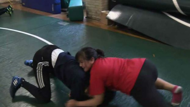 Wrestling Champ Inspires Young Girls