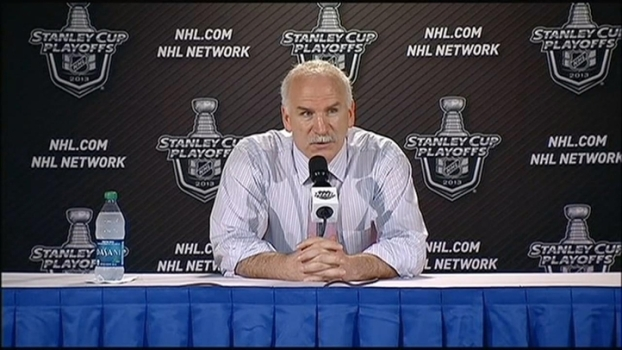 Quenneville Believes Team On Right Track