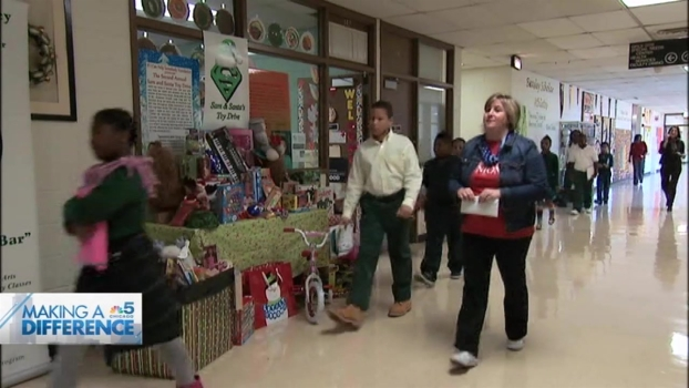 Student Kicks Off 3rd Annual Toy Drive