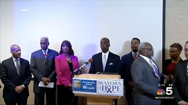 South Suburban Mayor and Clergy Urge People to Become Organ Donors