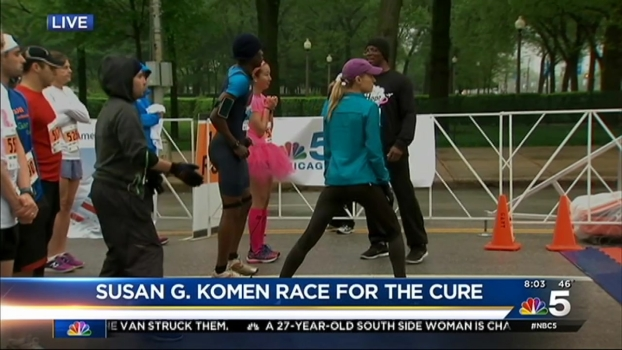 Thousands Lace Up for the Susan G. Komen Race for the Cure