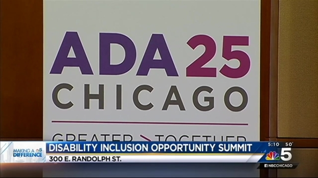 National 'Disabilities Inclusion Opportunity Summit' Comes to Chicago
