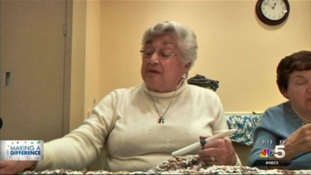 Ladies Crochet Mats for the Homeless