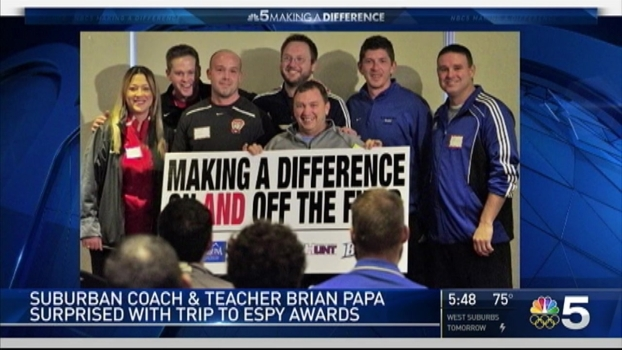 Suburban Teacher Gets Big Surprise for Making a Difference