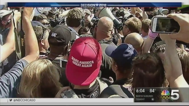 Tensions High Amid Protests at GOP Convention
