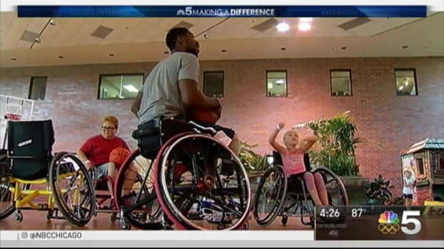 Paralympian Headed to Rio Helps Kids At Home