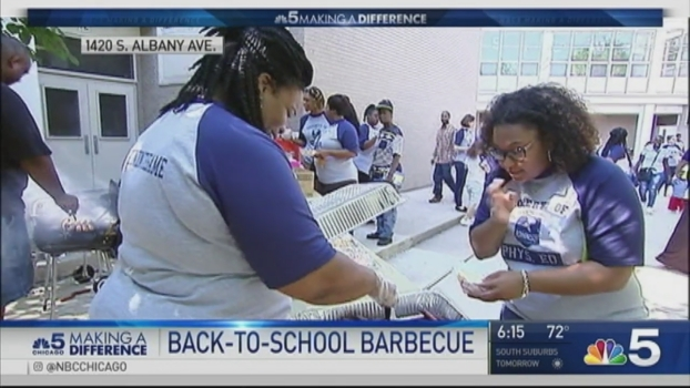 Making a Difference: Back to School BBQ
