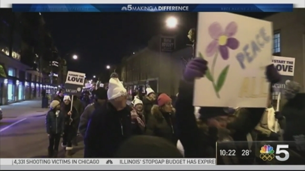 Polar Peace March Aims for More Peaceful Chicago