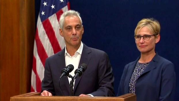 Emanuel: 'I've Decided Not to Seek Re-Election'