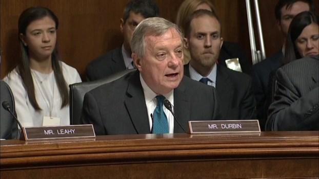 Watch Durbin's Address to Ford in Senate Hearing