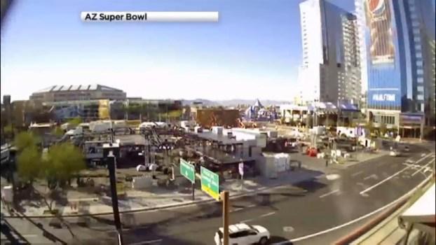 WATCH: Super Bowl Set-up Time-lapse