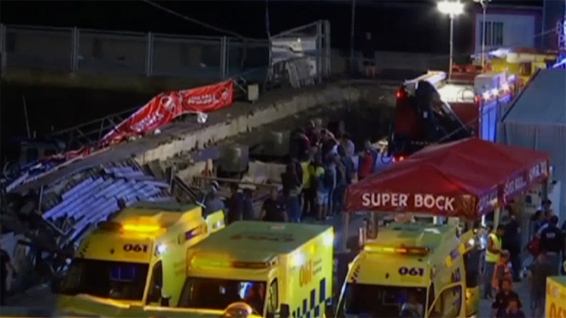 Boardwalk Collapse Leaves Hundreds Hurt in Spain