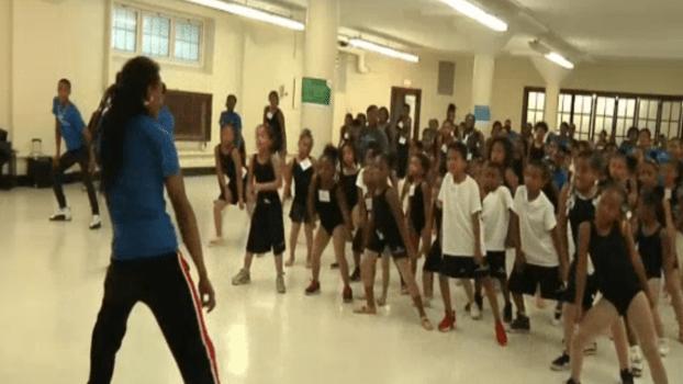 Hundreds of Aspiring Chicago Students Dance at Summer Camp