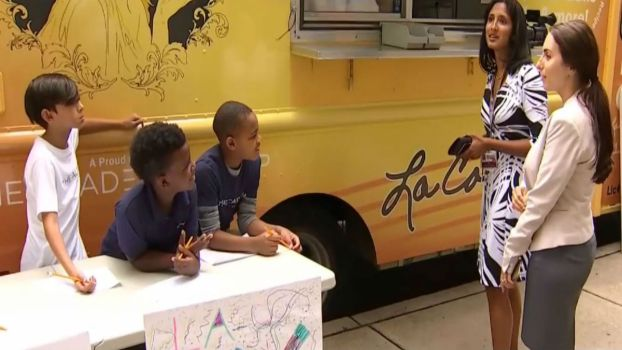 Fifth Graders Learn How to Run a Business in Summer Camp