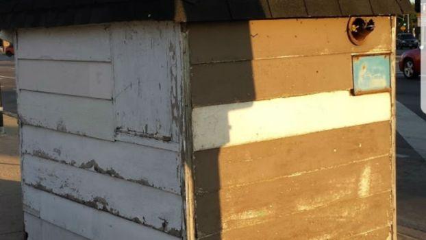 Cops Raise Cash For Newspaper Seller's Home Renovation