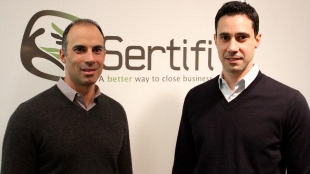 Spotlight: Sertifi's John and Nick Stojka