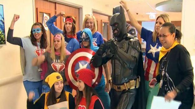Chicago Hospital Celebrates National Superhero Day
