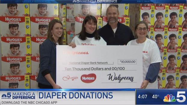 David Ross Heads Up Diaper Donation Drive