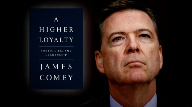 [NATL] Explosive New Details Outlined in Comey's Tell-All Book