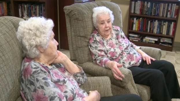 WATCH: Twins Celebrate 90th Birthday
